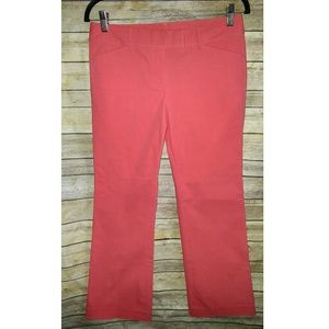 J.Crew Salmon Pink Coral Petite Low Fit Trousers